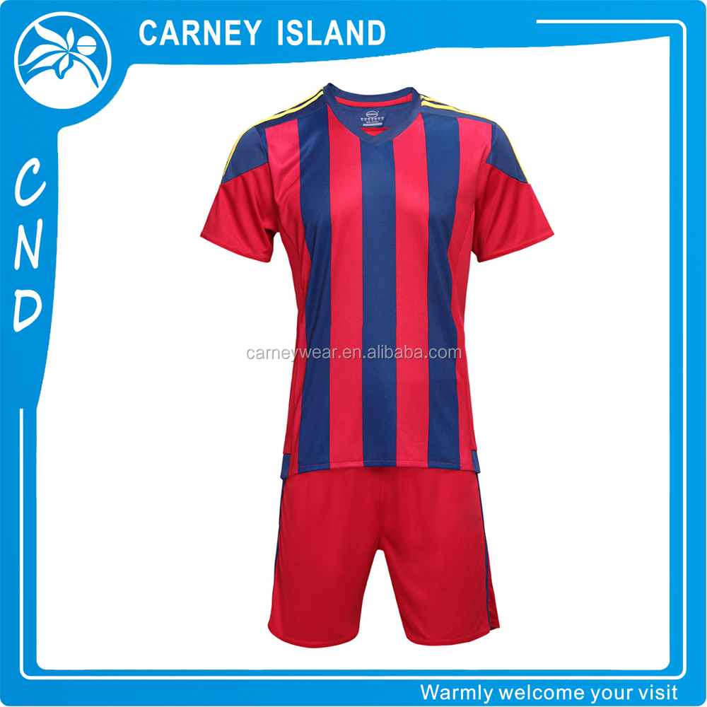 2015/2016 made in china manufacturer men jersey soccer