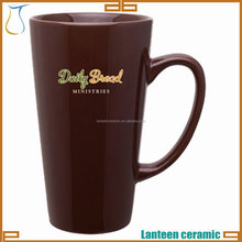 TALL LATTE MUG CERAMIC COFFEE CUP
