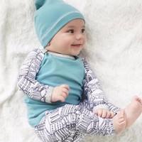 S15283A newborn baby clothes set 2016 autumn kids boy two piece clothing