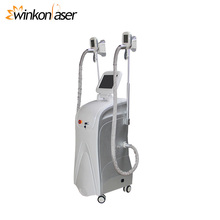 CE approved two cryolipolysis handles cool tech fat freezing machine for beauty salon