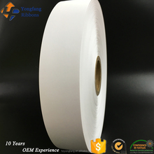 China quality nylon taffeta label fabric/nylon taffeta label roll