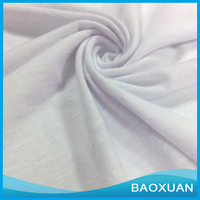 China supplier Polyester Slub Single Jersey Fabric For shirt
