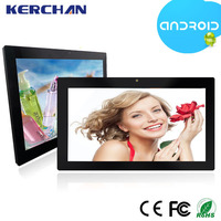 15.6 inch android 4.4 super smart tablet pc , window advertising screen