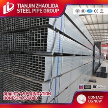 square and rectangular bs1387 square tube steel fence factory