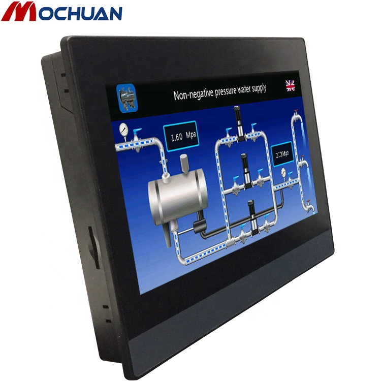 low cost usb modbus rs485 rs232 4 wire resistive touch screen panel master hmi <strong>monitor</strong>