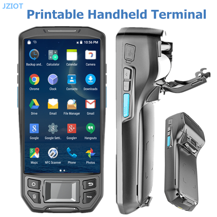 China Android Handheld Mobile PDA 3G Bluetooth Wifi 1D 2D Barcode Scanner with Display