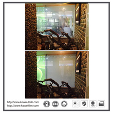 Electric window film ,Electric smart film for villa. Transparent and opaque