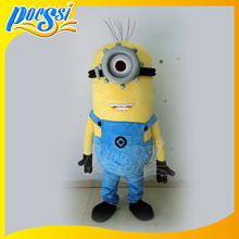 2017 Hot Movie Character Adult Despicable Me Minion Mascot Costume
