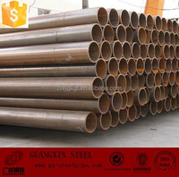 Supplier carton steel pipe/Manufacturer screwed welded pipe/High quality spiral welded steel pipe saw saw q235b