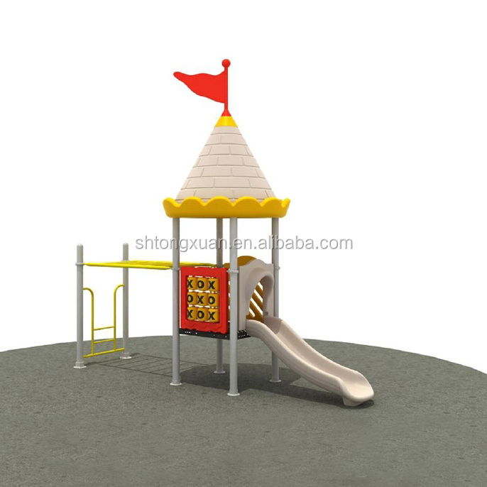 Castle Series Entertainment Cheap Children Amusement Park Outdoor Playground Equipment
