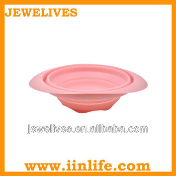 non stick silicone collapsible bowl