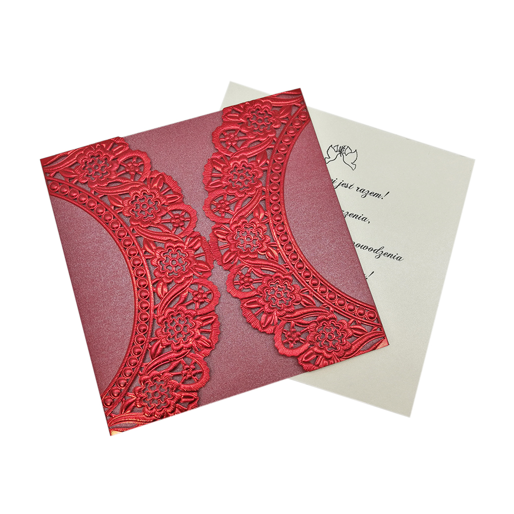 China wholesale wedding invitation card paper <strong>craft</strong>