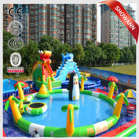 family design water games water pool kids inflatable swimming pool