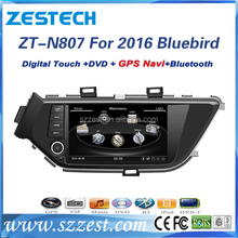 ZESTECH double din car stereo for Nissan Bluebird 2016 car spartparts with FM radio , usb, Blutooth, sd, swc