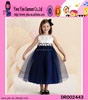 2016 Newest Hot Birthday Dress For Baby Girl Waist Flower Birthday Dress For Baby Girl