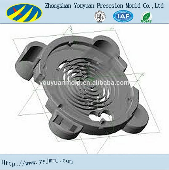 plastic heat dissipation base plate