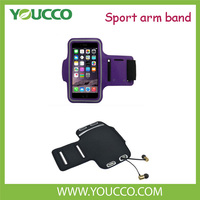 Popular sports mobile phone bag fabric armband Arm case