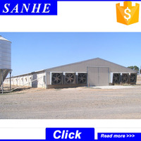 Direct factory design poultry control shed with competitive price