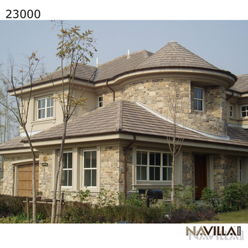Multiple Colors Exterior Wall Cladding Decorative Artificial Culture Stone
