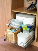 wire kitchen pull out drawer basket
