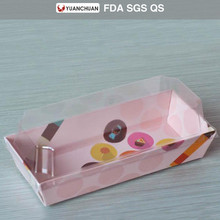 Customized design colorful hot dog tray box