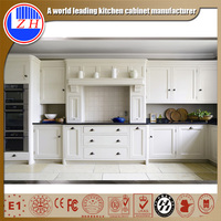 fire proof moisture proof Melamine MDF plywood prefab modern kitchen mdf cabinet model designs vinyl wrap