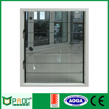 Aluminium casement window/aluminum glass panel window,Single Glazing Aluminum Glass Louvers with Australian Standard Glass