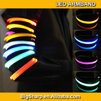 100pcs LED Sport Armband for Jogging LED Armband for Running training Safety LED Flashing Armban for Bike CE&Rohs AB-2002