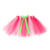 Girl's Classic Elastic 3 Layered Tutu Costume Skirt