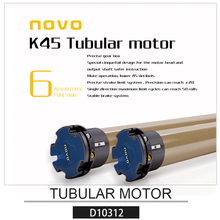NOVO High-Quality 45MM Customed AC Electric Tubular Motor/Electric Roller Blind Motor /Curtain Track Motor