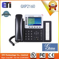 Grandstream GXP2160 6 lines Enterprise HD IP Phone SIP phone with POE USB Bluetooth wireless phone