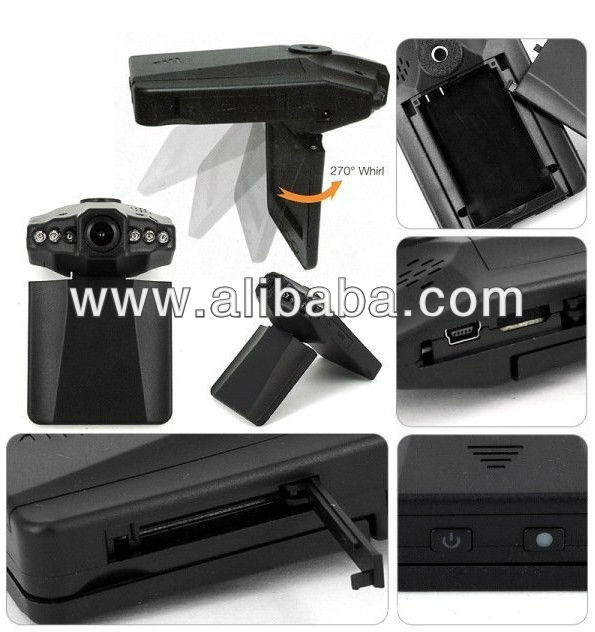 Original F8000 Car DVR Full HD 1080*720 30fps Car Camera Camcorder with Ambarella chip 120 Degrees Lens Dropshipping