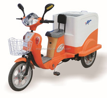 new electric trash tricycle trash 500w electric garbage cleaning tricycle , Trash cargo