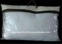 Fashional PVC clear plastic pillow carrier bag