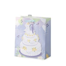 new handmade wedding customized design gift paper bag with ribbon handle