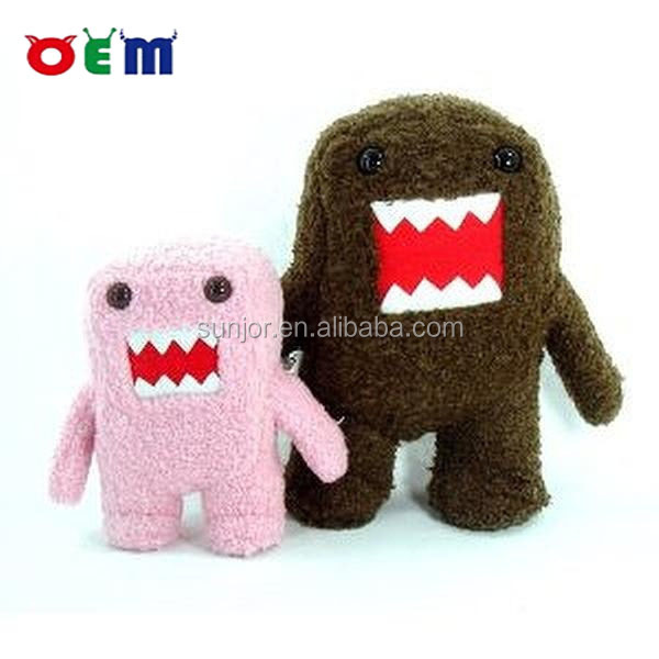 custom of plush toy domo kun,custom plush toy