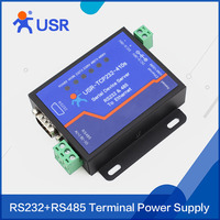 USR-TCP232-410S Serial RS232 RS485 to RJ45 Ethernet Server Support DHCP and DNS