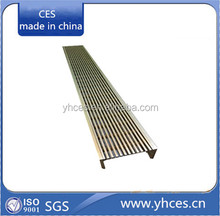 Wedge Wire Linear Floor Grates/Stainless Steel Floor Grating/Outdoor Drain Grates