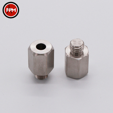 Wholesale custom aluminum hexagon metal button auto screw car fastener