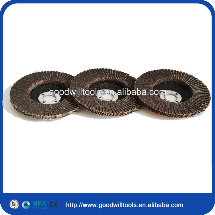 angle grinder flap disc for wood metal aluminium
