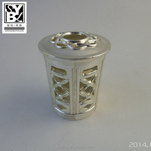 Wholesale big heave cup zinalloy material for burning aroma diffuser
