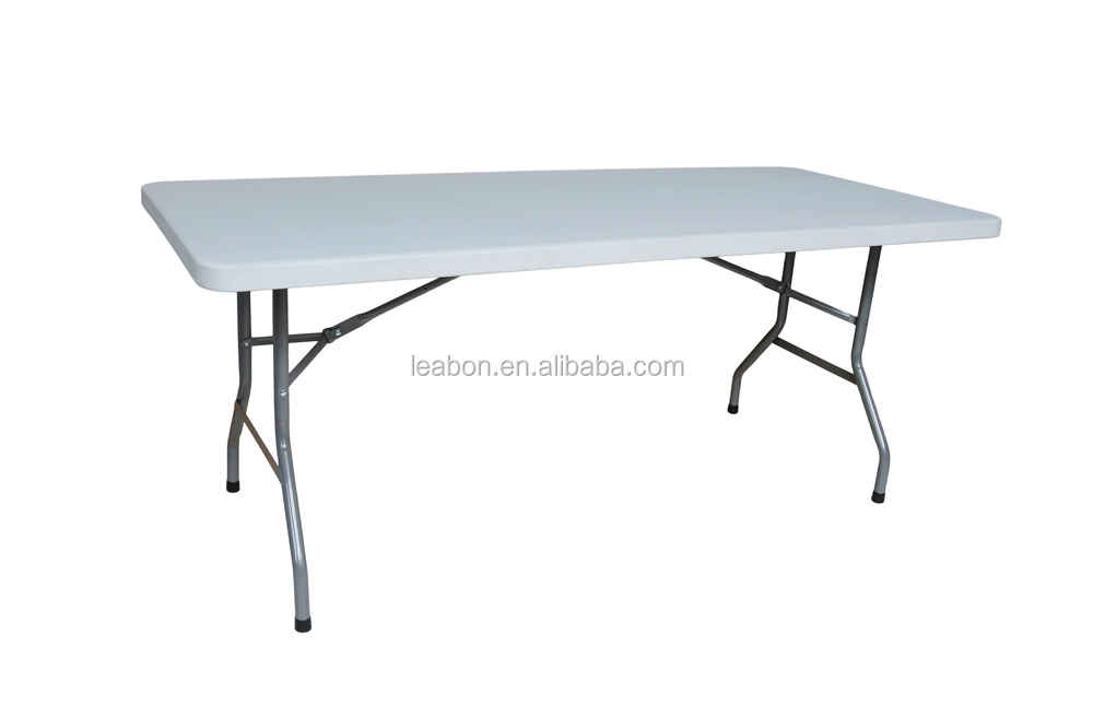 2017 new stylish trade show steel folding table