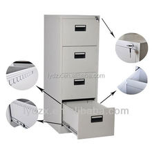 Customised office furniture 2 drawer wood filing cabinet