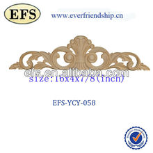 wood hand craved classic small appliques (EFS-YCY-058)