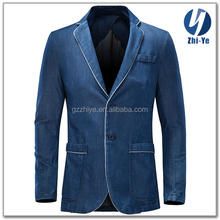 in stock items latest fashion design men denim suit