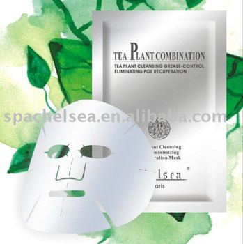 100% pure nature tea tree skin care mask