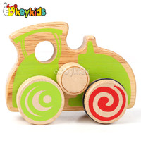 2016 wholesale wooden car toys for kids, most popular wooden car toys for kids, funny wooden car toys for kids W04A170
