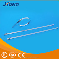 shipping from China lock adjustable stainless steel cable tie