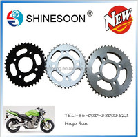 new motorcycle sprocket for ASTREA 420-36T/14T , good quality and factory price motorcycle sprocket