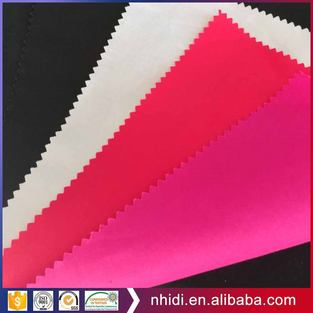 Chinese solid color cotton 40x40 133x100 poplin fabric for pocketing